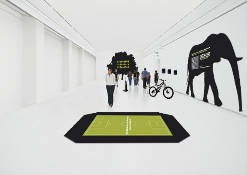 Ausstellungsraum Mülltrennung Ahrental