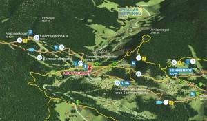 Wanderstarttafeln Wiener Alpen