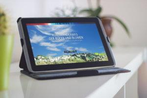 Infotrailer für Outdoor Aktivitäten