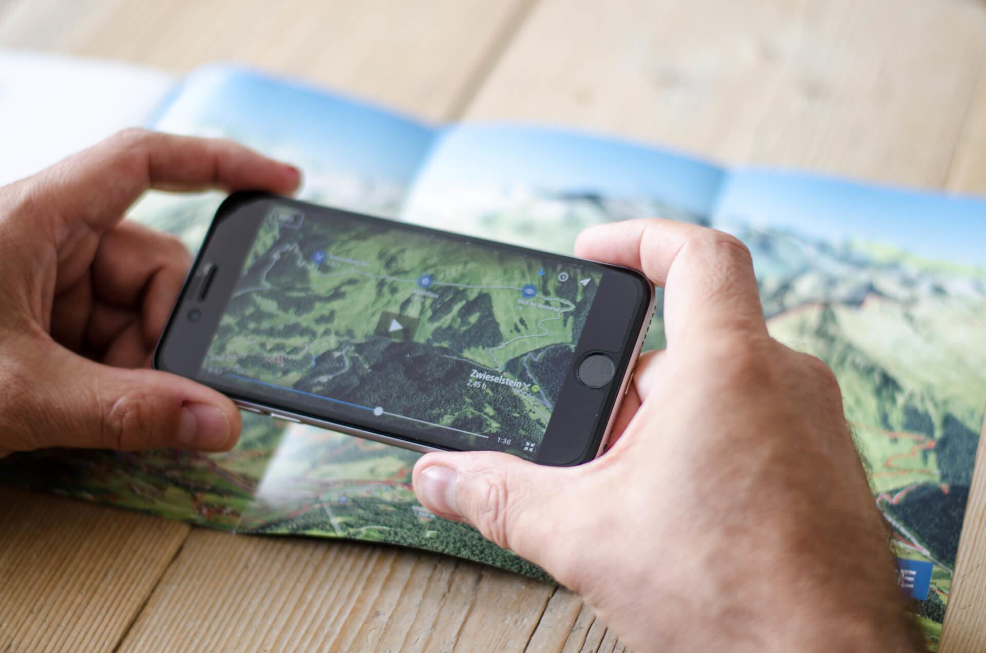 Augmented Reality Karten