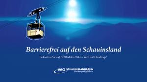 Barrierefrei auf den Schauinslandbahn - Infotrailer Bergbahn Freiburg