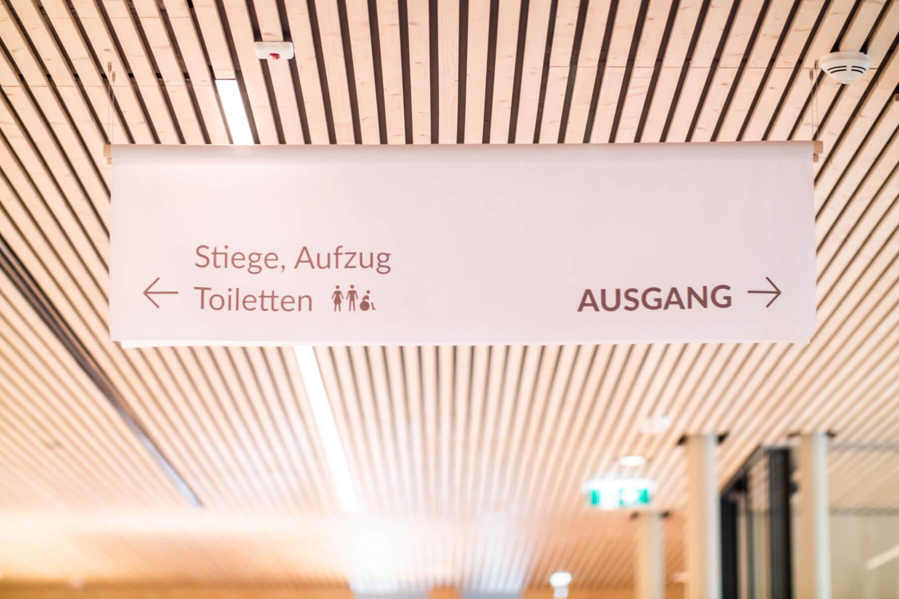 Leitsystem Hospizhaus Tirol